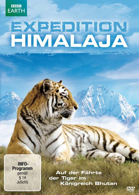 Expedition Himalaja - Auf der Fährte der Tiger.. DVD Bild