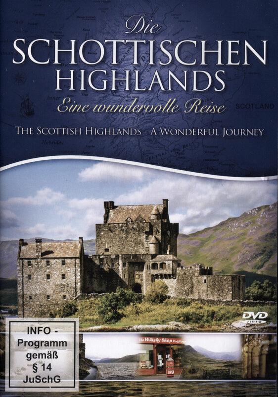 Die schottischen Highlands - Eine wundervolle... DVD Bild