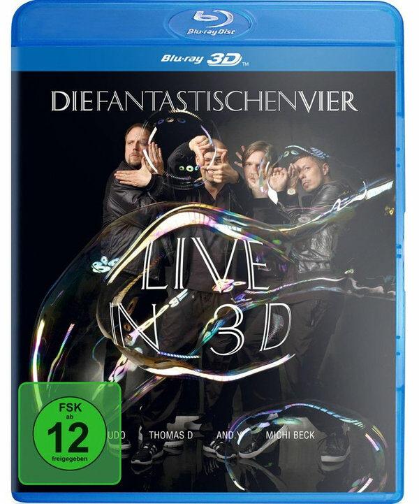 Die Fantastischen Vier - Live in 3D Blu-ray Bild