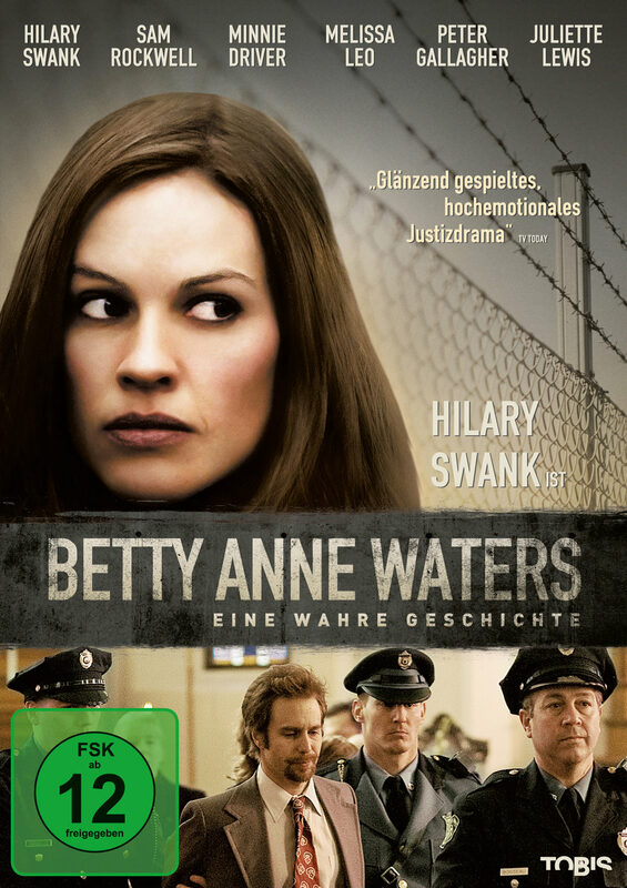 Betty Anne Waters DVD Bild