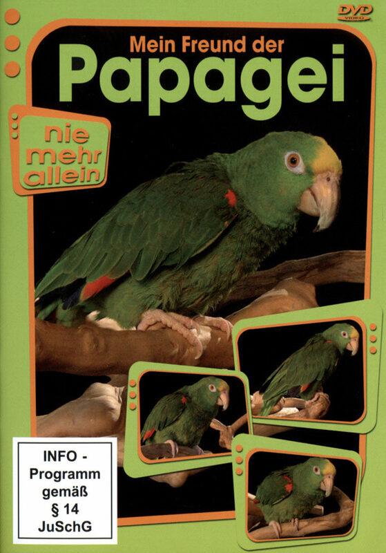 Mein Freund der Papagei DVD Bild
