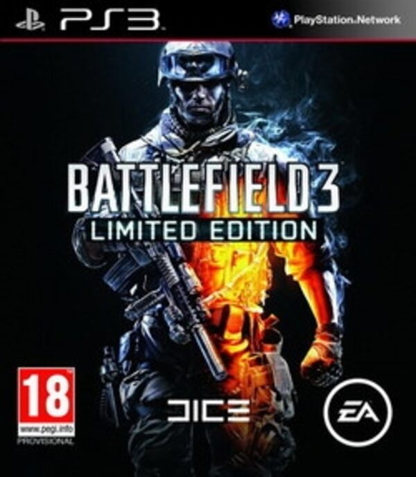 Battlefield 3 - Limited Edition AT PS3 Bild