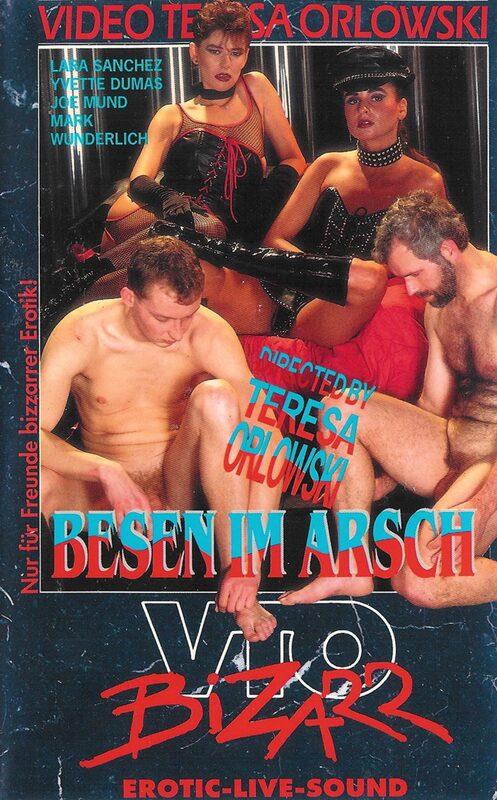 Besen im Arsch - Bizarr VHS-Video Bild