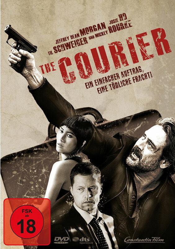 The Courier DVD Bild