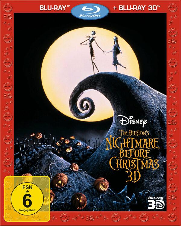 Nightmare Before Christmas Trailer Deutsch