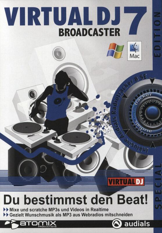 Virtual DJ 7 Broadcaster Special Edition PC Bild