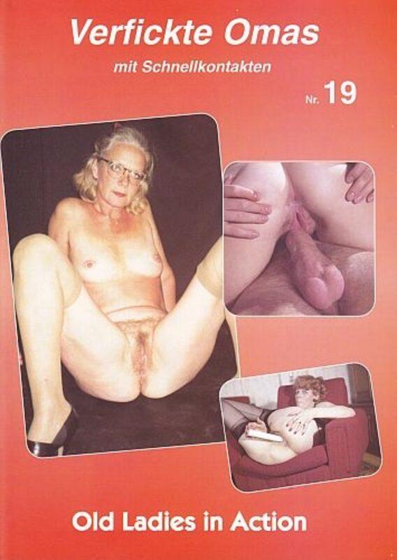 Verfickte Omas 19 Magazin Bild