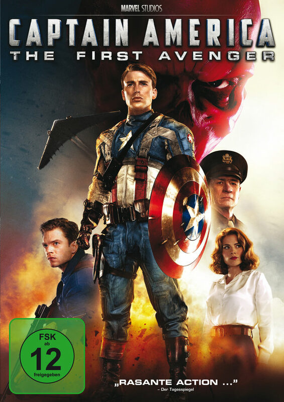Captain America - The First Avenger DVD Bild