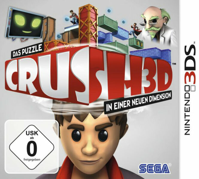 Crush 3D Nintendo 3DS Bild