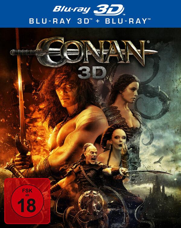 Conan - Der Barbar  (inkl. 2D-Version) Blu-ray Bild