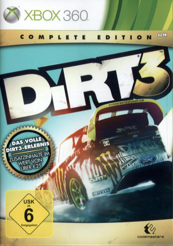 DiRT 3 - Complete Edition XBox 360 Bild