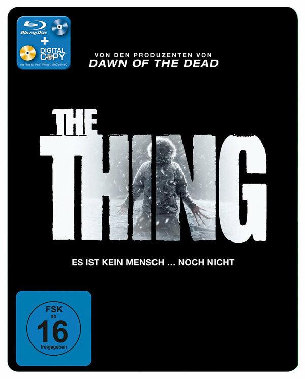 The Thing (Steelbook, inkl. Digital Copy) Blu-ray Bild