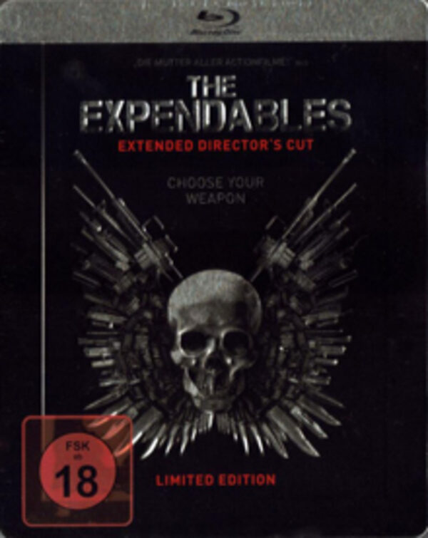 The Expendables - Extended Director´s Cut Limitiertes Steelbook Blu-ray Bild