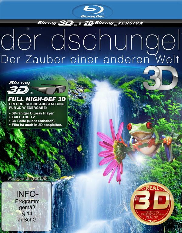 Der Dschungel - Der Zauber einer anderen Welt (Blu-ray 3D) Blu-ray Bild