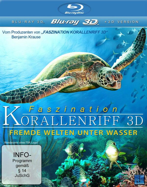 Faszination Korallenriff - Fremde Welten unter Wasser (Blu-ray 3D) Blu-ray Bild