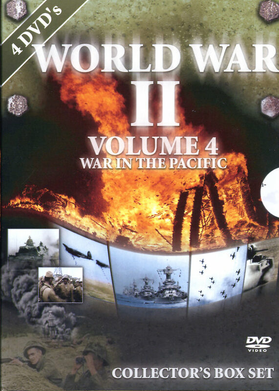 World War II - Vol. 4  [4 DVDs] - Coll. BoxSet DVD Bild