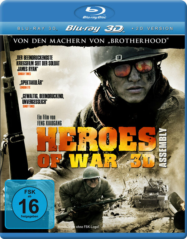 Heroes of War - Assembly 3D Blu-ray Bild