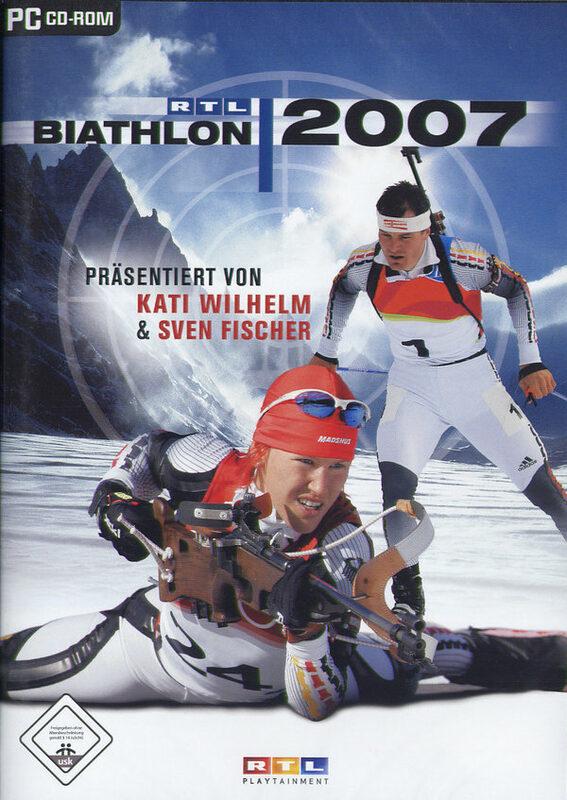 Игры для всей семьи Спортивные РТЛ Биатлон 2009 / RTL Biathlo