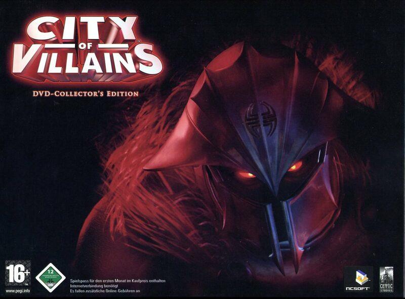 City of Villains - Collectors Edition (DVD-ROM) PC Bild