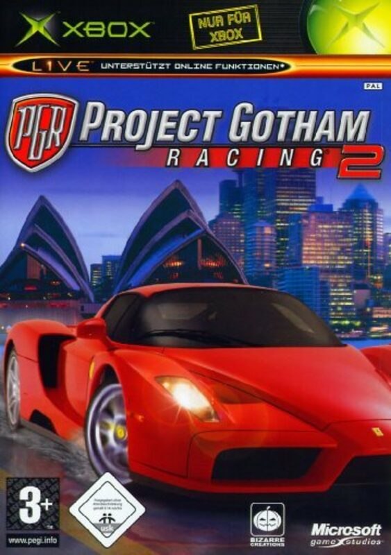 Project Gotham Racing 2 XBox Bild