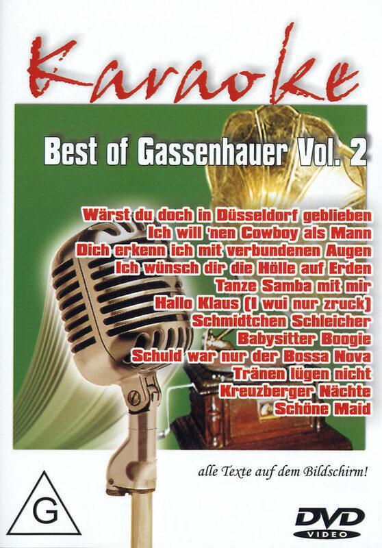 Karaoke - Best of Gassenhauer Vol. 2 DVD Bild