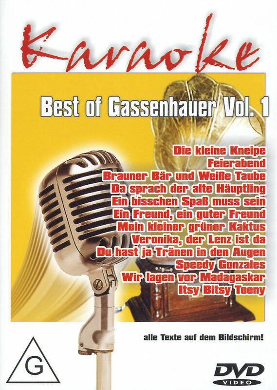 Karaoke - Best of Gassenhauer Vol. 1 DVD Bild