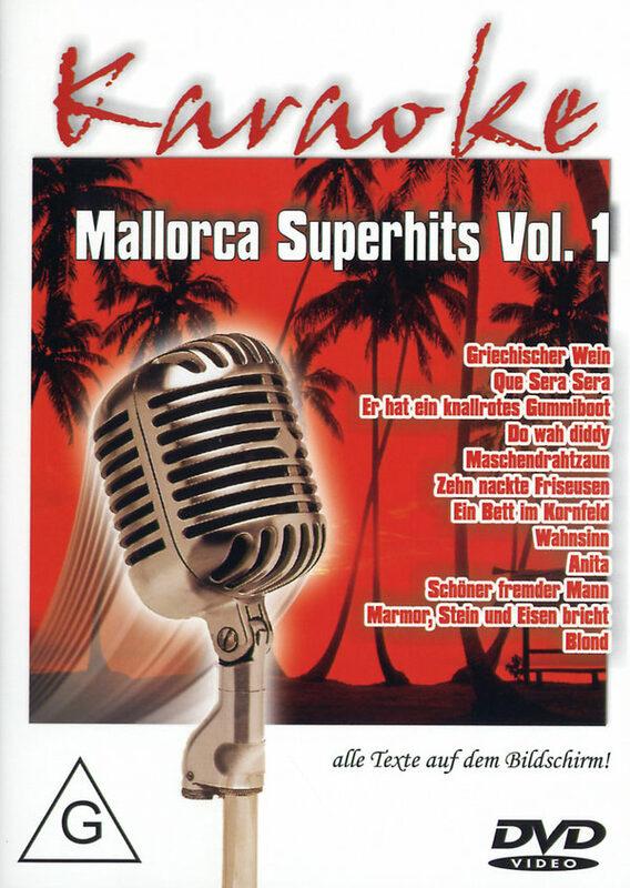 Karaoke - Mallorca Superhits Vol. 1 DVD Bild