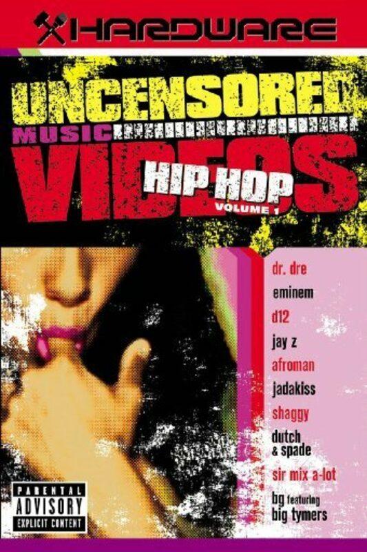 Uncensored Music Videos - Hip Hop Vol. 1 DVD Bild