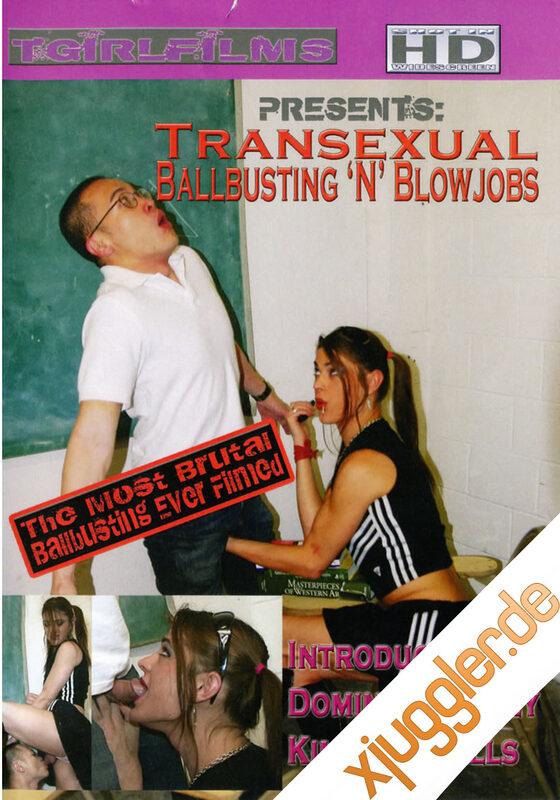 Transsexual Ballbusting Blow Job(dis DVD Bild