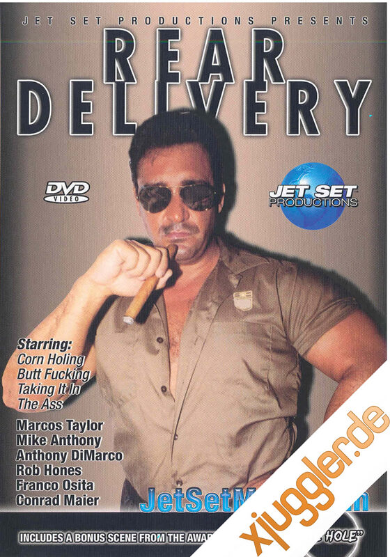 Rear Delivery Gay DVD Bild