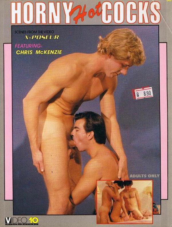 Horny Hot Cocks Gay Buch / Magazin Bild