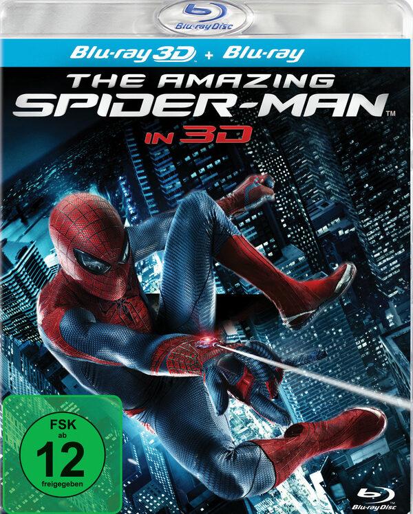 The Amazing Spider-Man 3D  (+ Blu-ray) Blu-ray Bild