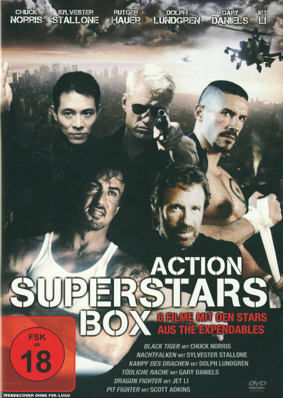 Action Superstars Box  [2 DVDs] DVD Bild