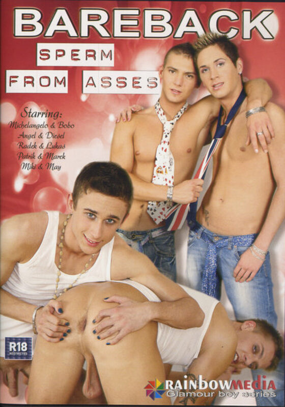 Sperm From Asses Gay DVD Bild