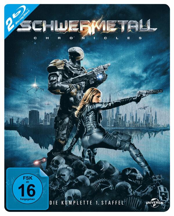 Schwermetall Chronicles...  [LE] [SB] [2 BRs] Blu-ray Bild
