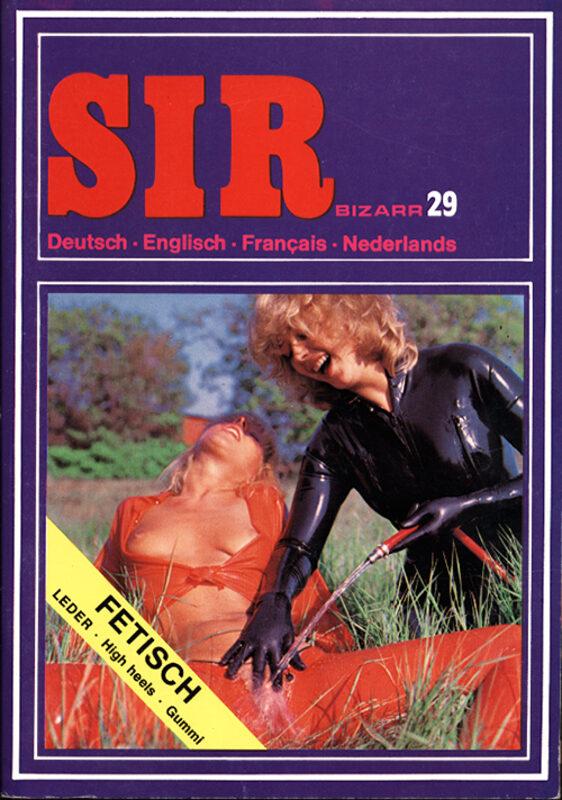 Sir Bizarr 29 Magazin Bild