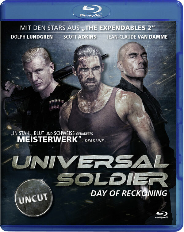 Universal Soldier - Day of Reckoning (Uncut) Blu-ray Bild