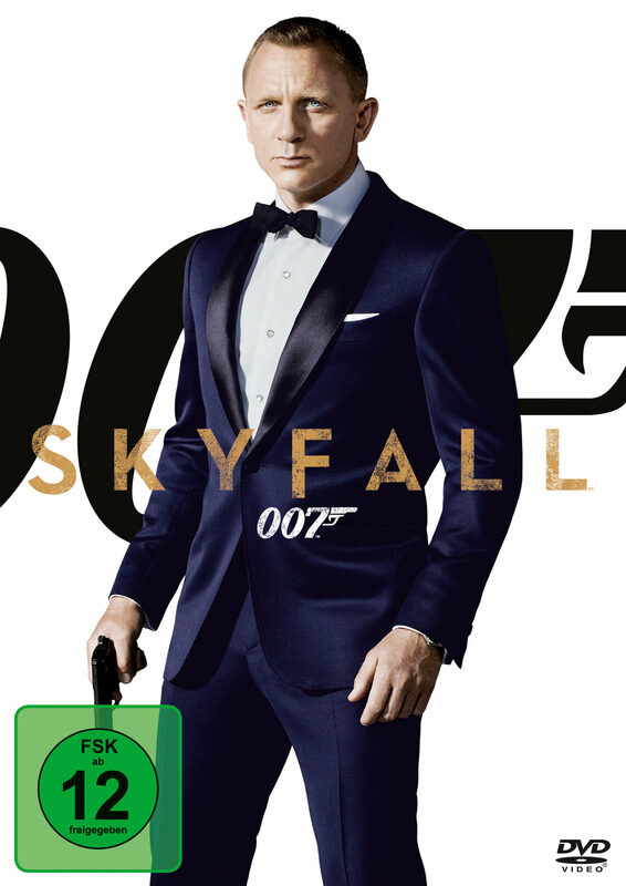 James Bond - Skyfall DVD Bild