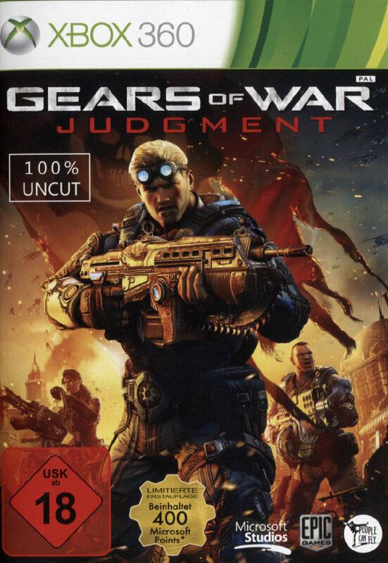 Gears of War Judgement XBox 360 Bild