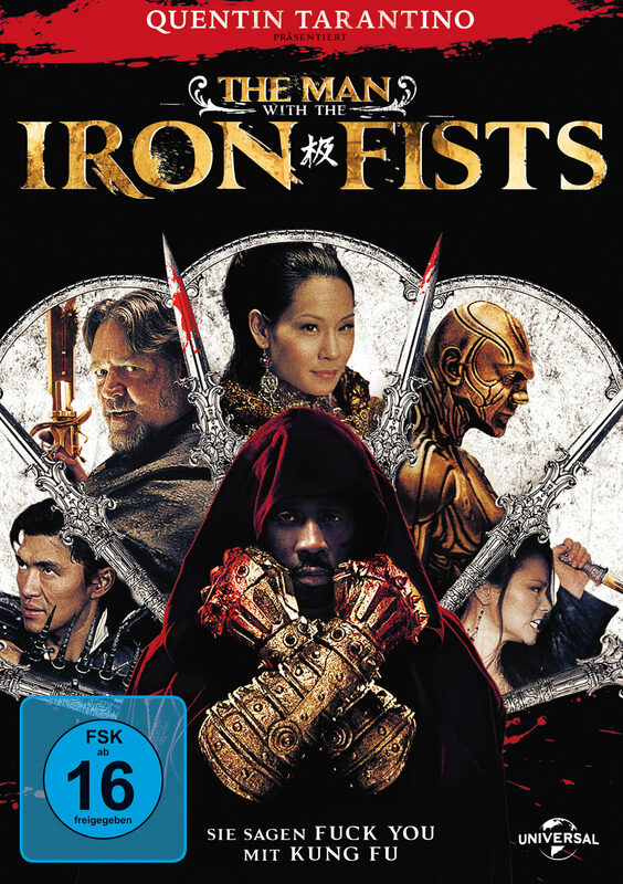 The Man With The Iron Fists DVD Bild