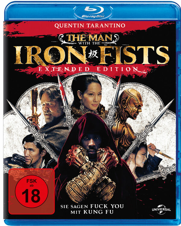 The Man With The Iron Fists - Extended Edition Blu-ray Bild