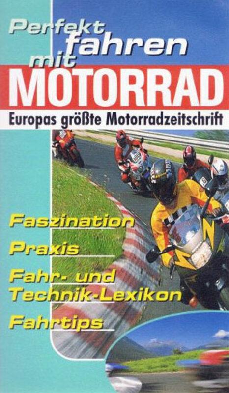 Perfekt fahren mit Motorrad VHS-Video Bild