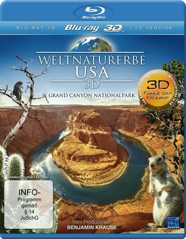Weltnaturerbe USA - Grand Canyon Nationalpark Blu-ray Bild