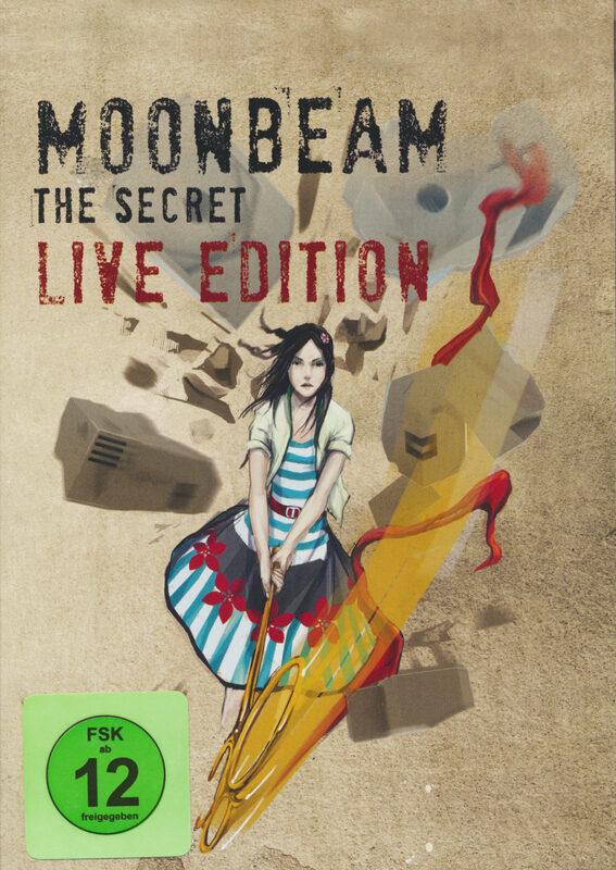 Moonbeam - The Secret/Live Edition  (+ CD) DVD Bild