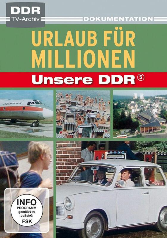 Unsere DDR 5 - Urlaub für Millionen - DDR TV-Ar. DVD Bild