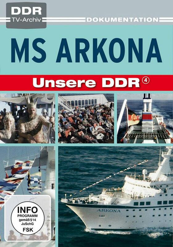 Unsere DDR 4 - MS Arkona - DDR TV-Archiv DVD Bild