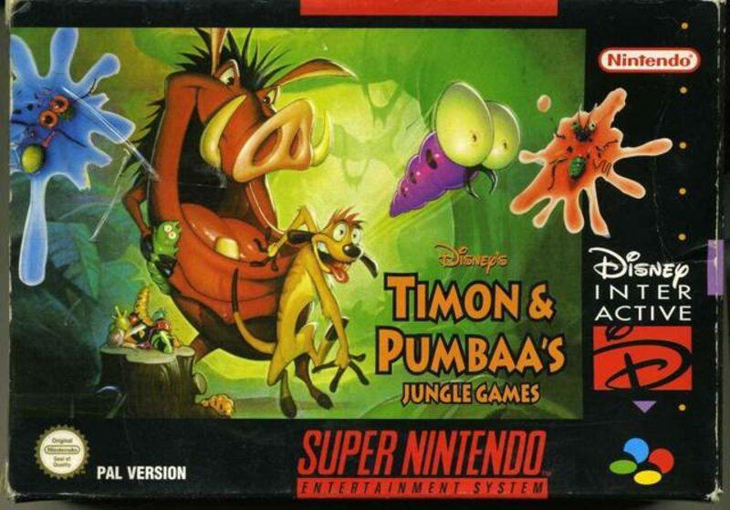 Disneys Timon & Pumbaa's Jungle Games Super Nintendo Bild