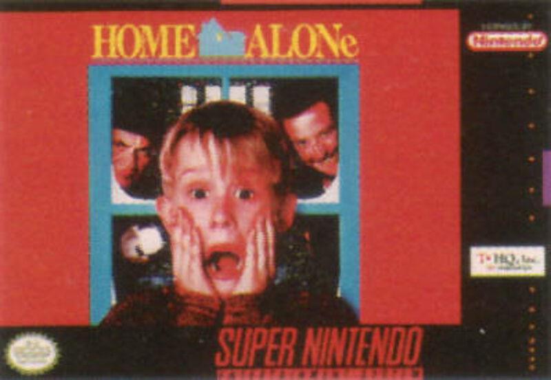 Home Alone Super Nintendo Bild