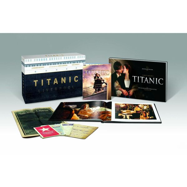 Titanic - Limitierte Sonderedition in 3D+2D Blu-ray Bild
