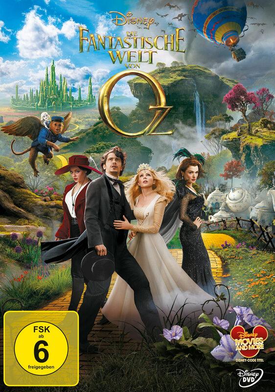 Die fantastische Welt von Oz DVD Bild
